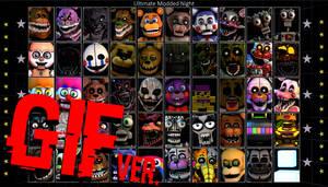 [FNaF] Ultimate Modded Night (Animated Roster)