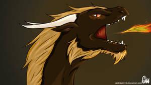 Dragon Fire- Coloured