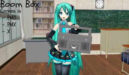 Boom Box by EverlastingEcho-P (Fixed)