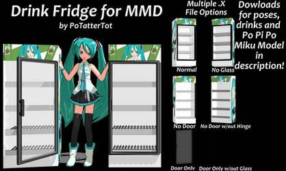 MMD Drink Fridge Download by PoTatterTot