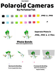 New Styled Polaroid Prop for MMD by PoTatterTot