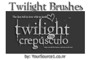 Twilight Brushes by YourSource