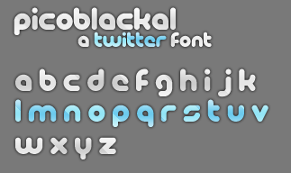 Twitter Free Font by YourSource