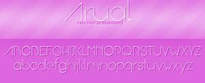 Arual Free Font