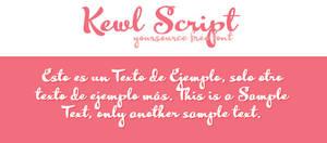Kewl Script Free Font