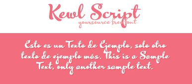 Kewl Script Free Font by YourSource