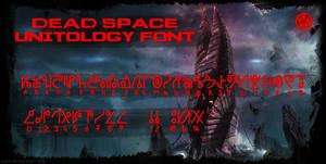Dead Space Unitology Font