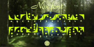 Nox Font by NickPolyarush