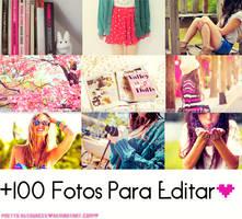 +1OO Fotos Para Editar by Pretty-Resources