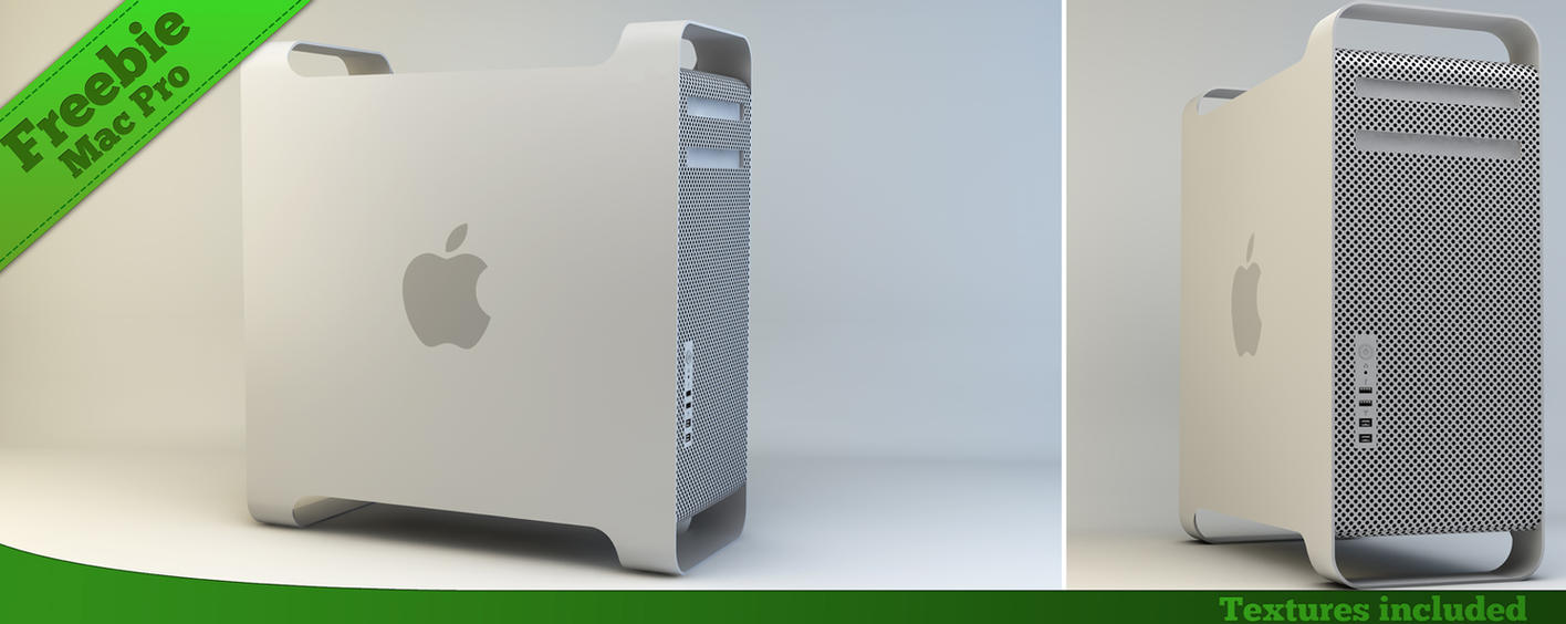 Freebie: Mac Pro by The3DLeopard