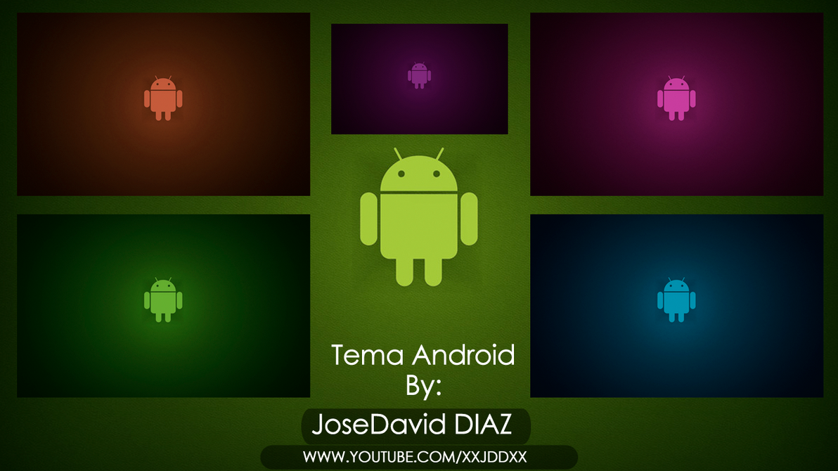 Tema android para windows 7 by josedaviddiaz on deviantart for Temas anime para android