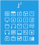 Jsquared Icons