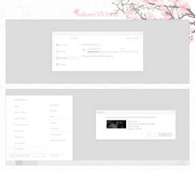 Sakura VS for 7 by juiceboxxxxxx