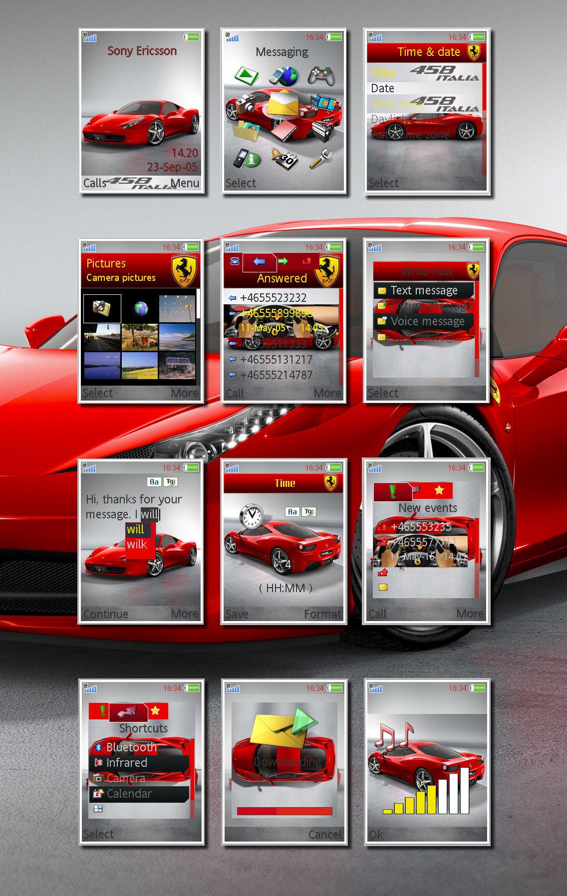 FerrariF458ItaliaforK800