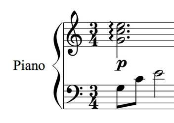 Sheet Music: Mario's Lullaby by dekuNukem