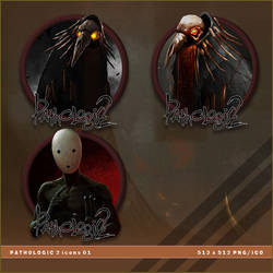 Pathologic 2 icons by BrokenNoah