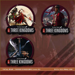 Total War: Three Kingdoms icons by BrokenNoah