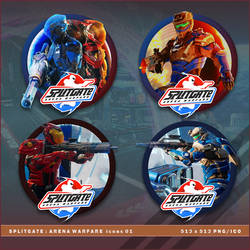 Splitgate: Arena Warfare icons by BrokenNoah