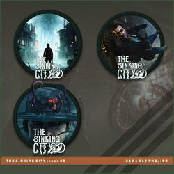 The Sinking City icons by BrokenNoah