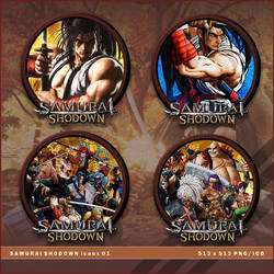 Samurai Shodown icons by BrokenNoah