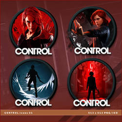 Control icons by BrokenNoah