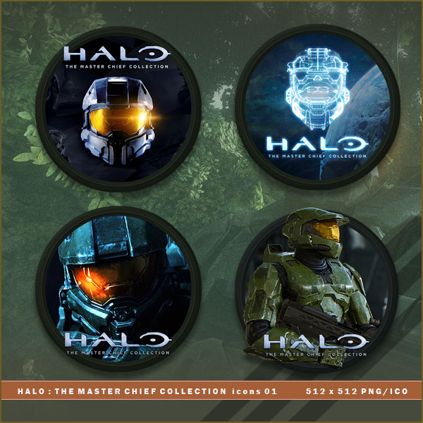 Halo The Master Chief Collection Icons By Brokennoah On