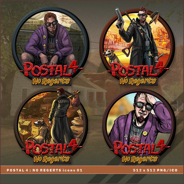 Postal 4 No Regerts Icons By Brokennoah On Deviantart