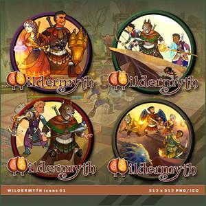 Wildermyth icons