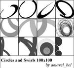 Circles and Swirls Brushes