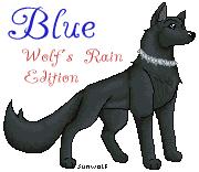 Blue - Wolf's Rain by gurain