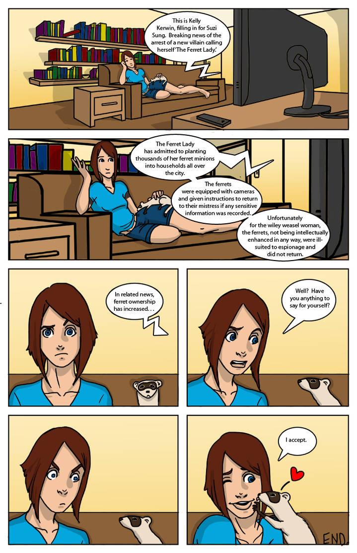SG346 Mustelid Mysteries by SidekickGirl
