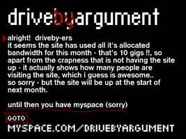 Driveby Argument Site - 2006 by nortago