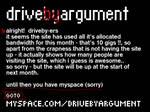 Driveby Argument Site - 2006