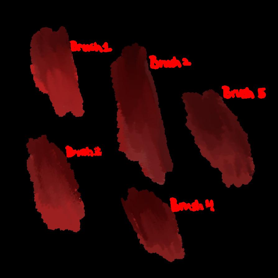 Texture Paint Brush Firealpaca