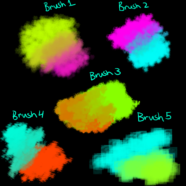 Brush Pack for fire alpaca by candydesufox on DeviantArt