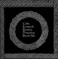 Celtic Knotwork Borders Set