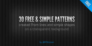 30 Simple Patterns