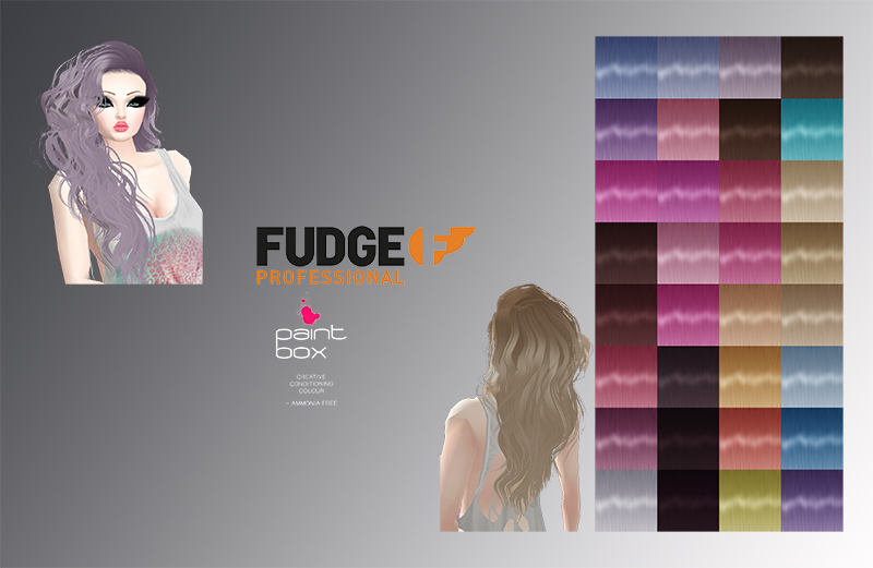 Fudge Paintbox Hair Color Textures By Noctishorrorem On