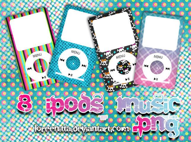 iPod Music PNG by Loreenitta