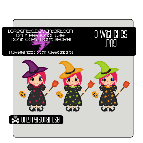 Witches .png by Loreenitta