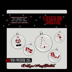 CyrstalBalls Christmas PNG