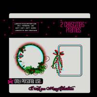 2 Christmas Frames PNG by Loreenitta