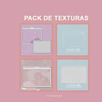 + Pack de texturas by AlejandraArely