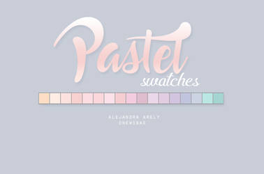 Pastel swatches by AlejandraArely