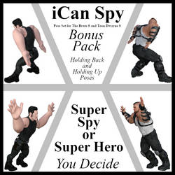 iCan-Spy BONUS Pack Poses for TB8 and TD8