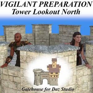 Vigilant Preparation Pose - Tower Lookout North G8