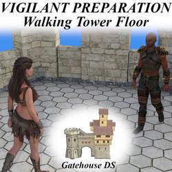 Vigilant Preparation Pose G8 - Walking Tower Floor