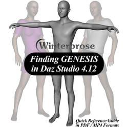 Finding Genesis in Daz Studio 4.12 (MP4/PDF)