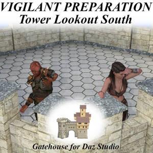 Vigilant Preparation Poses G8, Tower Lookout South