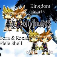 KH2 - Sora-Roxas Flele Shell by SoraCooper